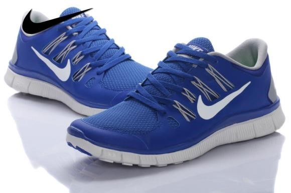 Nike Free 5.0 Blue Running Shoes
